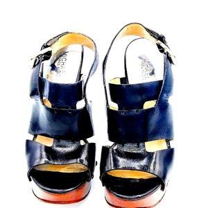 Michael Kors Size 10 Black Platform Stilettos